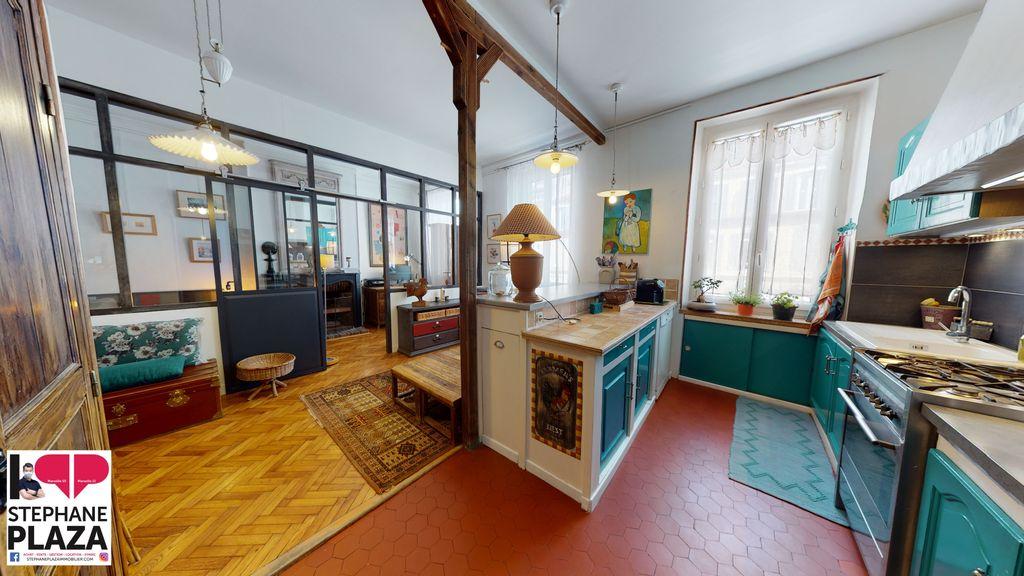 Achat appartement 4pièces 83m² - Marseille 6ème arrondissement
