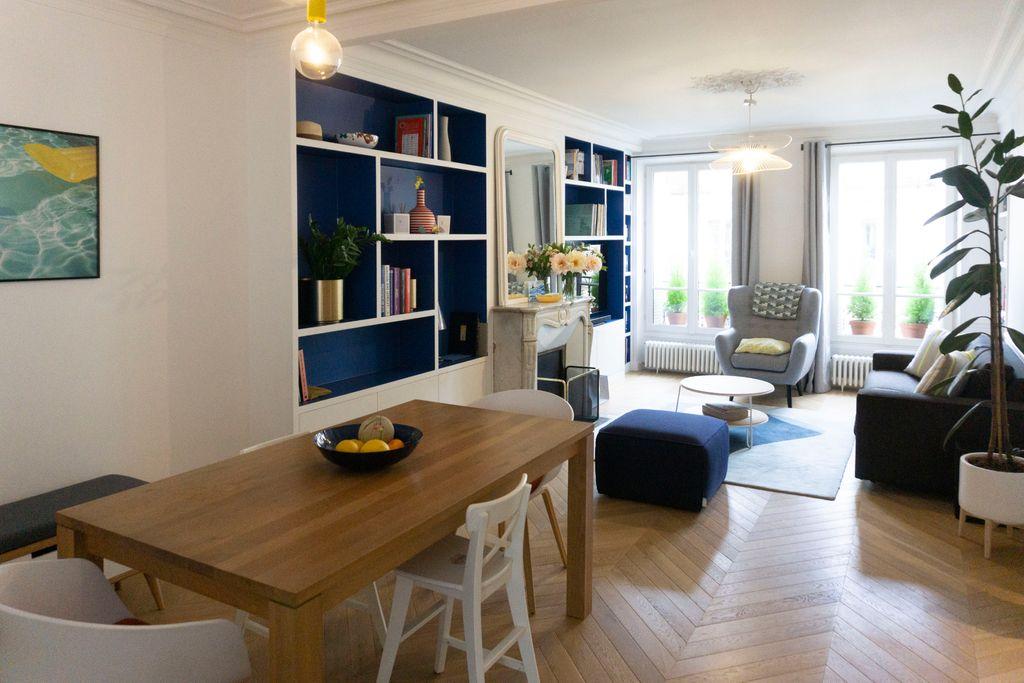Achat appartement 4pièces 72m² - Paris 8ème arrondissement