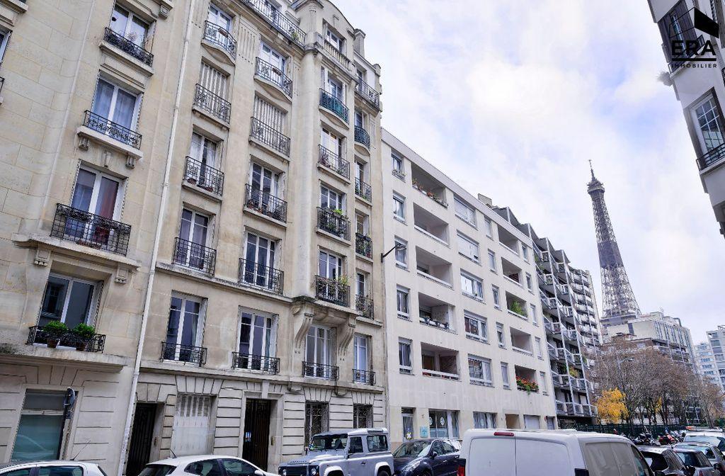 Achat studio 9m² - Paris 15ème arrondissement