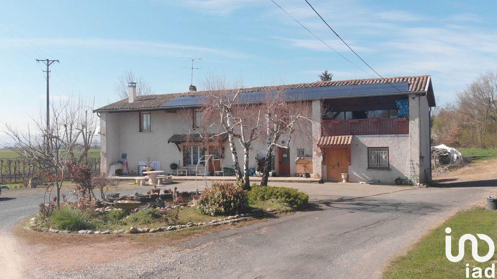 Achat maison 4chambres 168m² - Peyzieux-sur-Saône