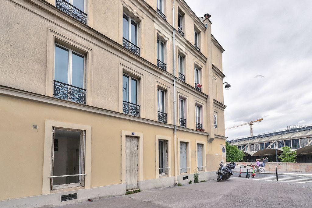Achat studio 24m² - Paris 13ème arrondissement