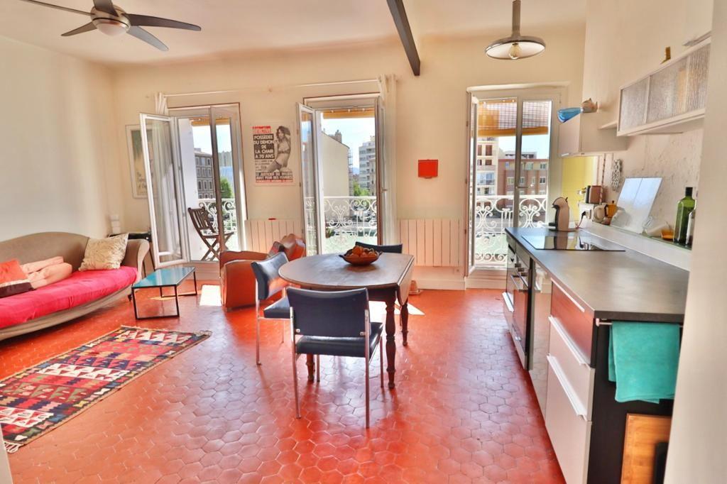 Achat appartement 3pièces 62m² - Marseille 2ème arrondissement