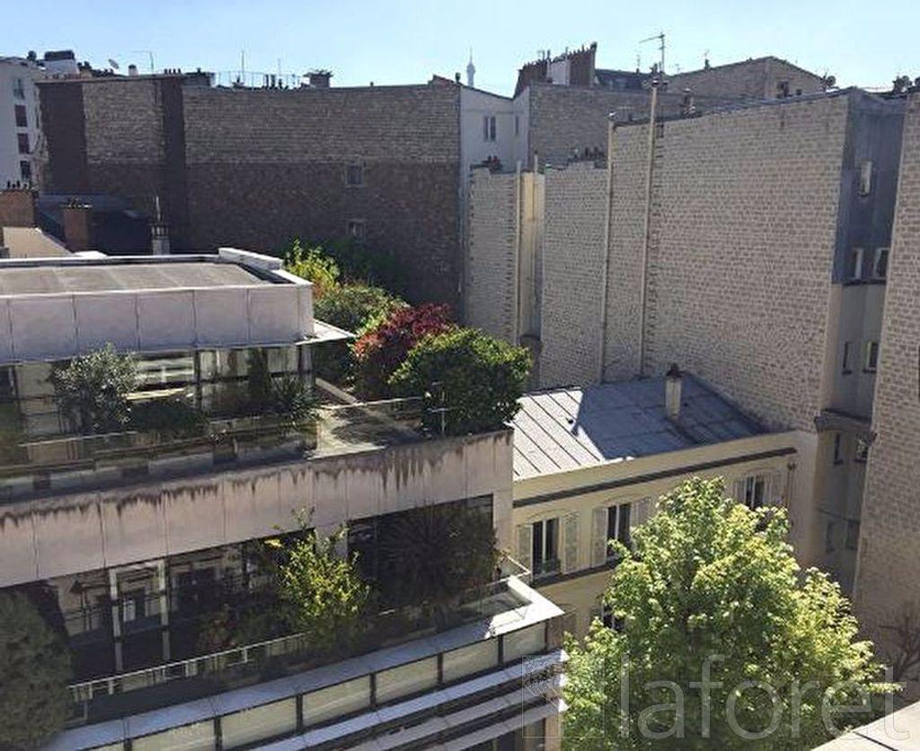 Achat studio 21m² - Paris 16ème arrondissement