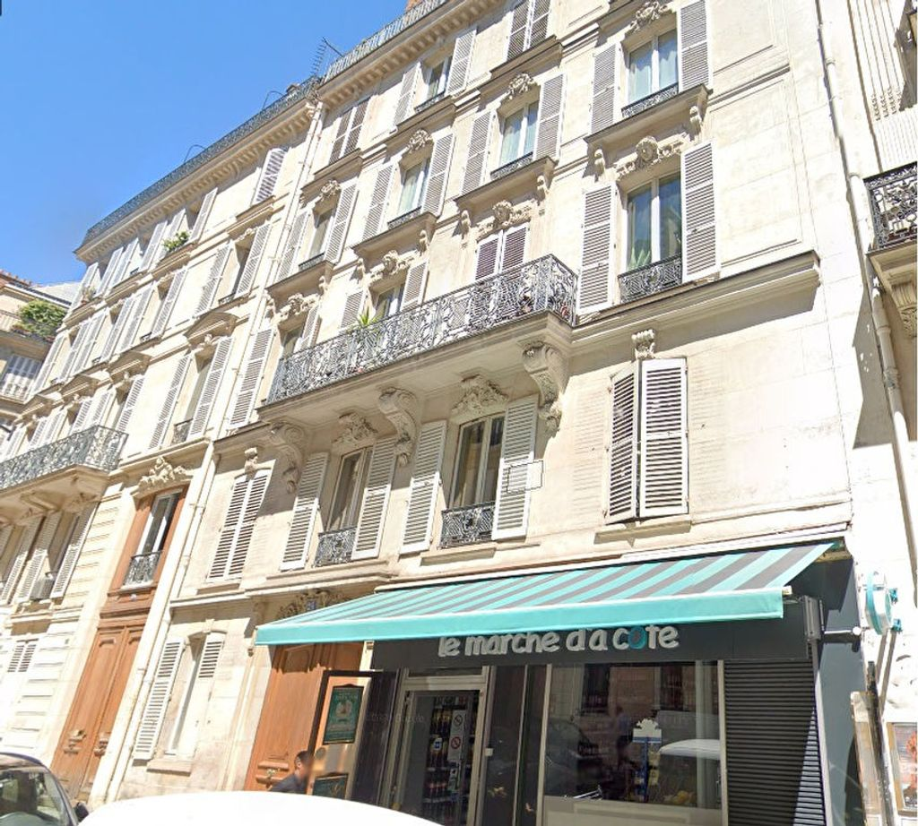 Achat studio 5m² - Paris 8ème arrondissement