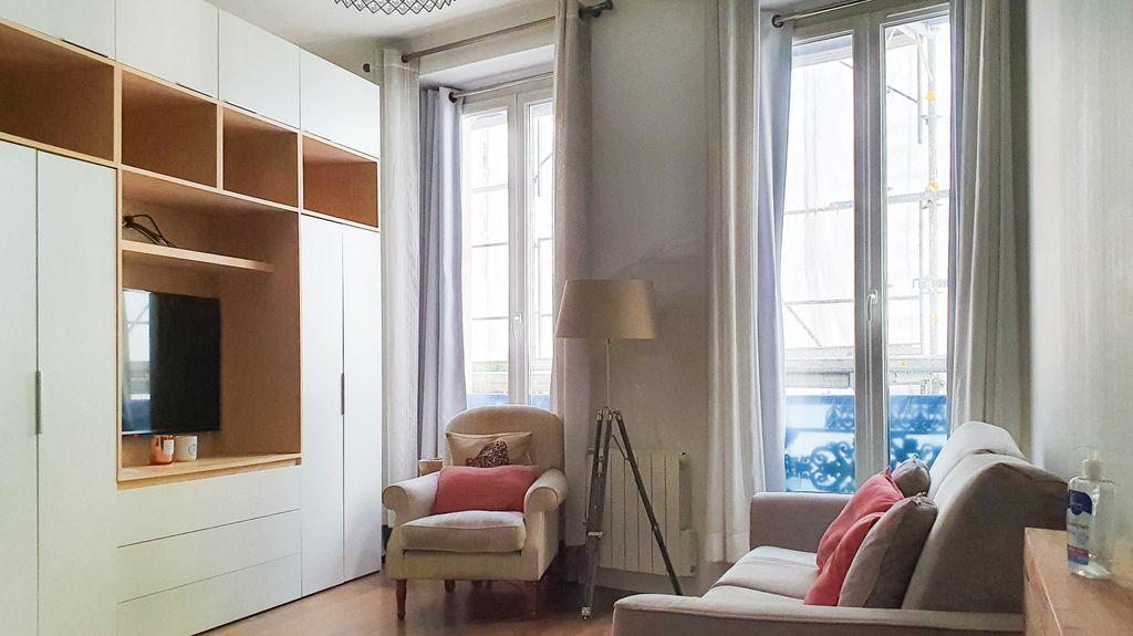 Achat studio 27m² - Paris 2ème arrondissement