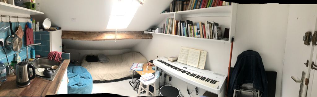 Achat studio 12m² - Paris 19ème arrondissement