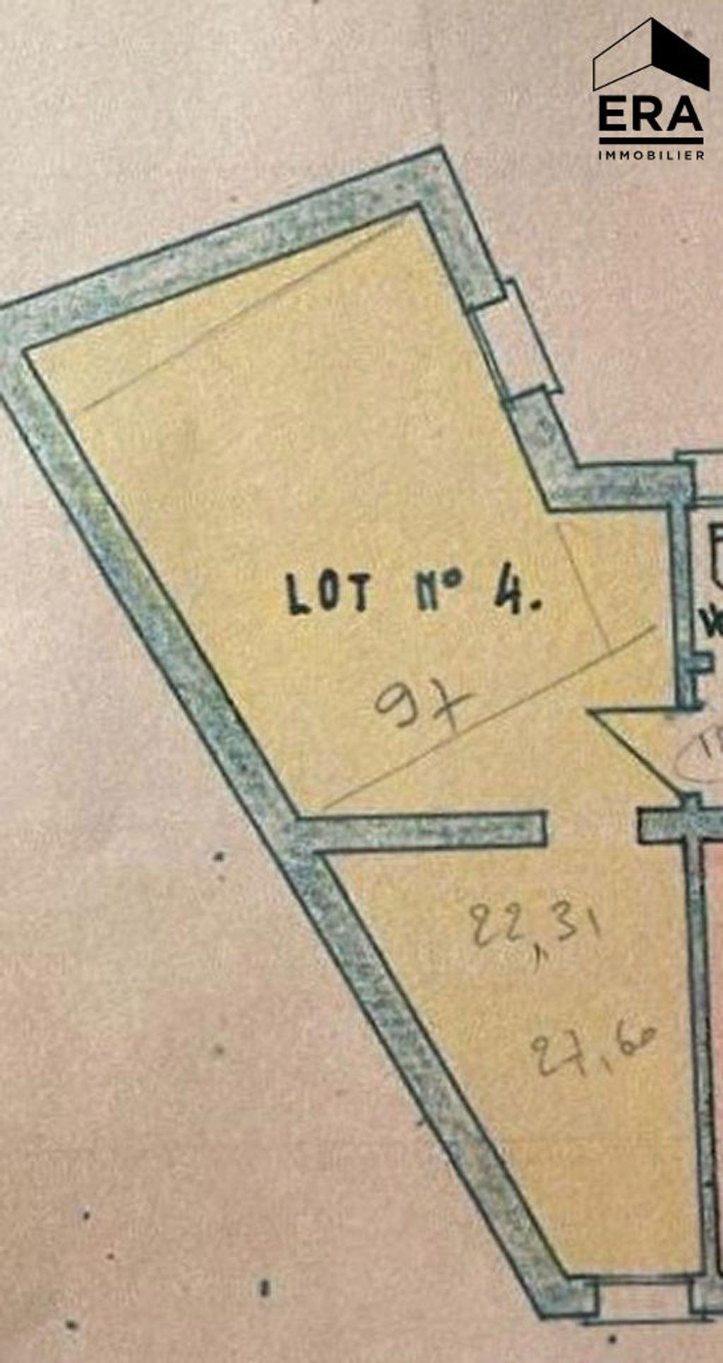 Achat appartement 2pièces 32m² - Paris 13ème arrondissement