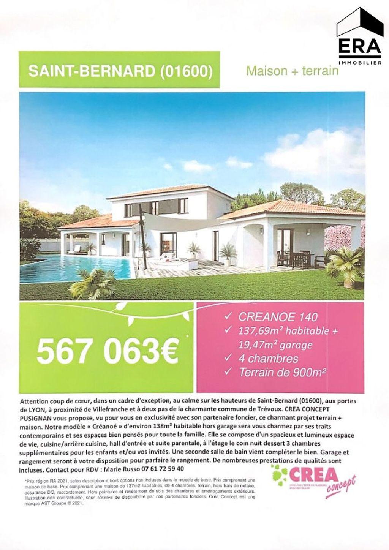 Achat maison 3chambres 138m² - Saint-Bernard