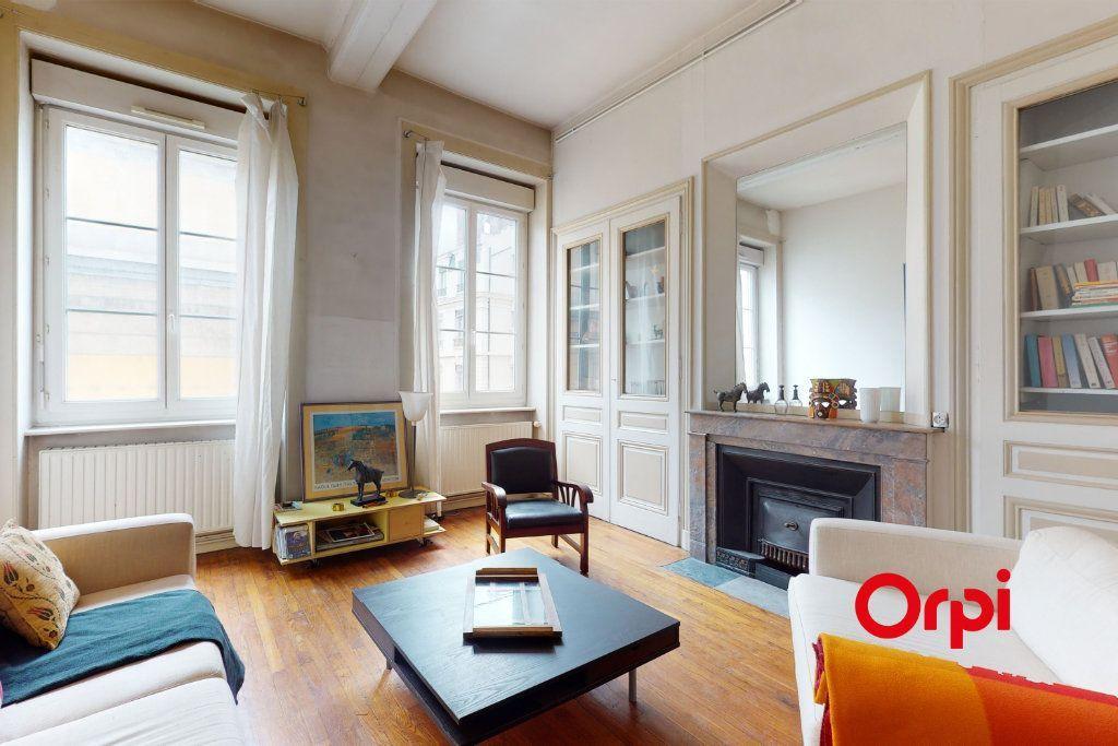 Achat appartement 3pièces 103m² - Lyon 1er arrondissement