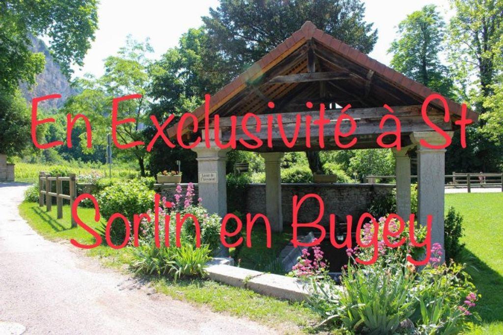 Achat maison 3chambres 108m² - Saint-Sorlin-en-Bugey