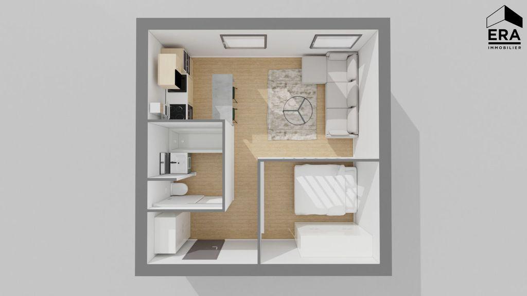 Achat studio 33m² - Paris 19ème arrondissement