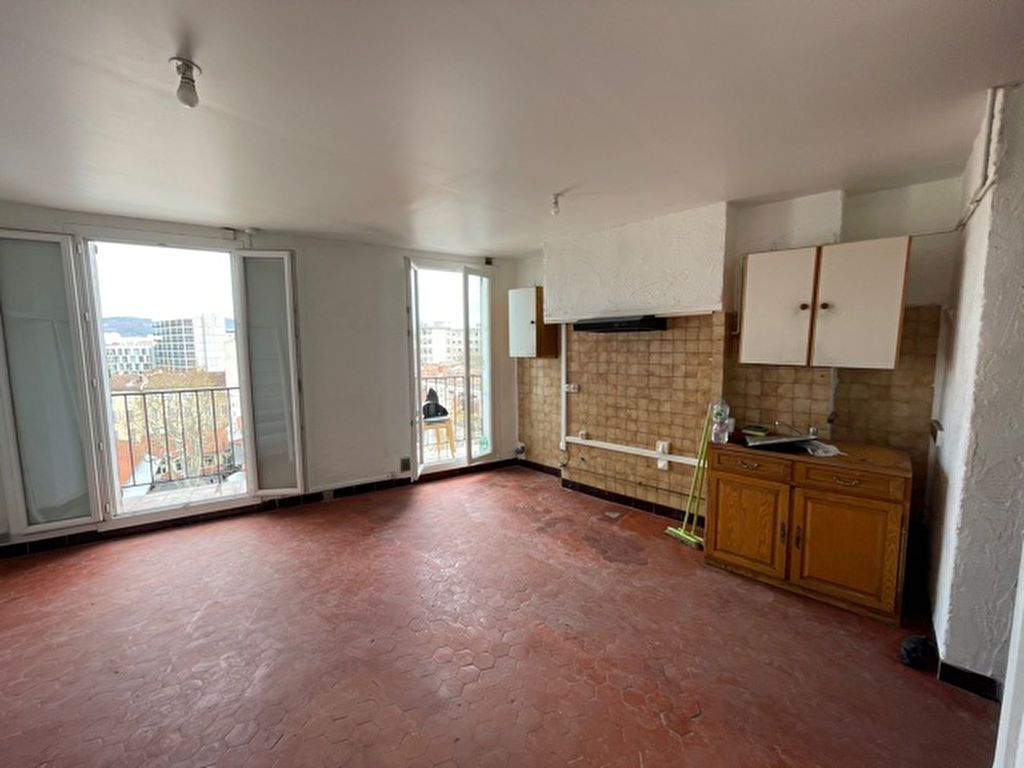 Achat appartement 2pièces 31m² - Marseille 3ème arrondissement
