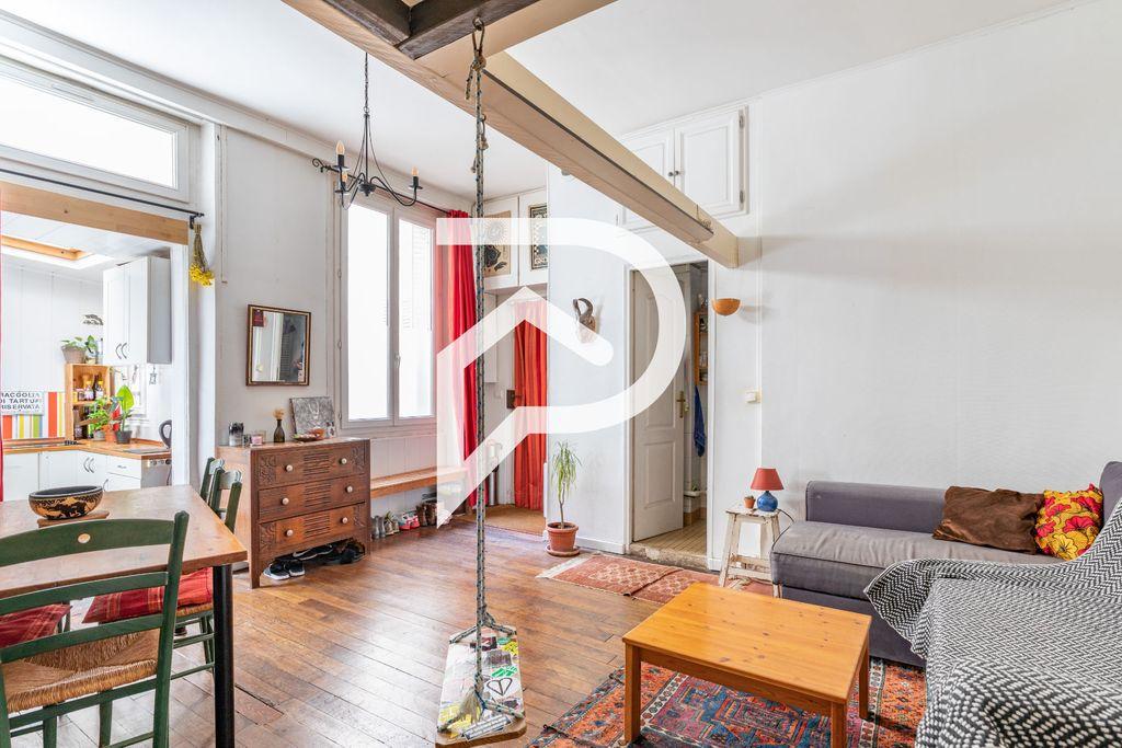 Achat studio 30m² - Paris 9ème arrondissement