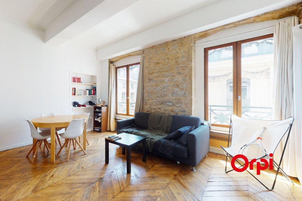 Achat studio 32m² - Lyon 1er arrondissement