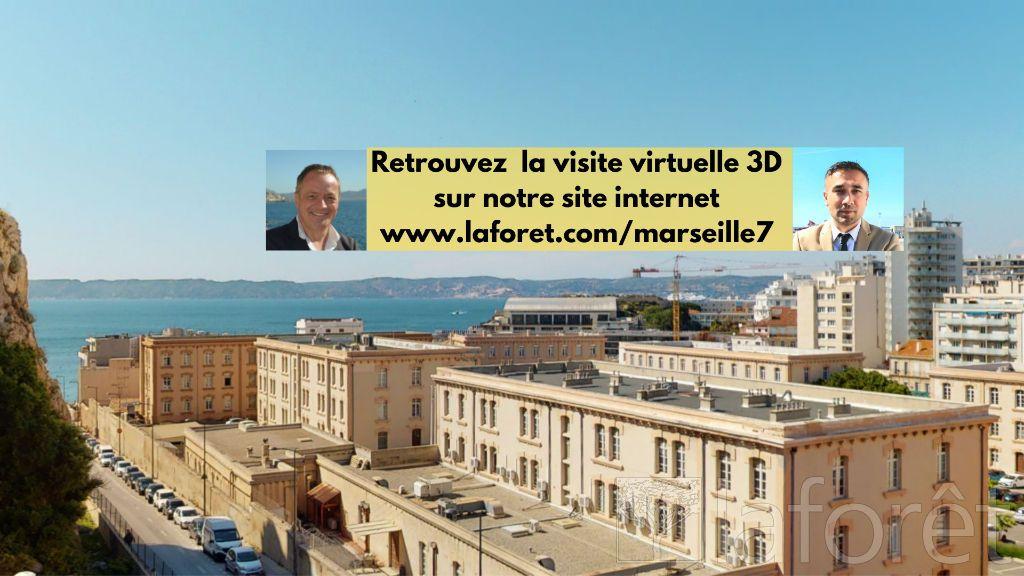 Achat appartement 3pièces 63m² - Marseille 7ème arrondissement
