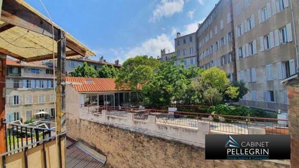 Achat appartement 2pièces 47m² - Marseille 1er arrondissement