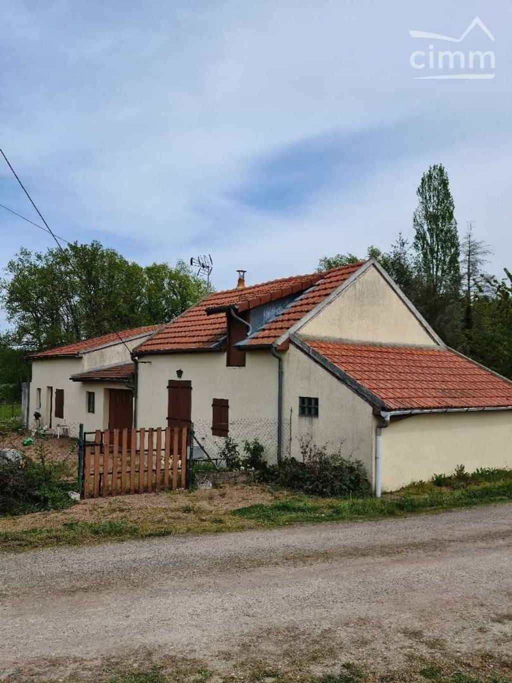 Achat maison 2chambres 72m² - Luthenay-Uxeloup