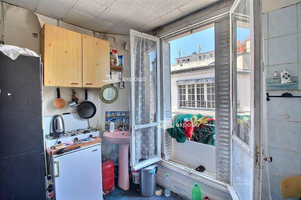 Achat studio 12m² - Paris 17ème arrondissement