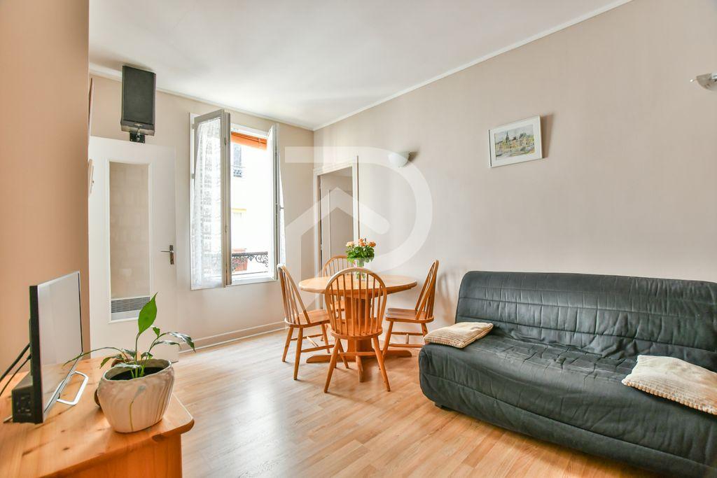 Achat appartement 2pièces 28m² - Paris 20ème arrondissement