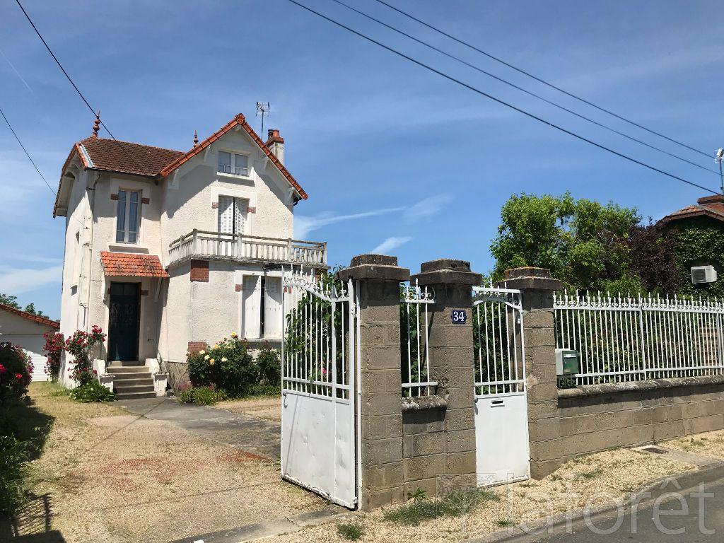 Achat maison 2chambres 89m² - Moulins