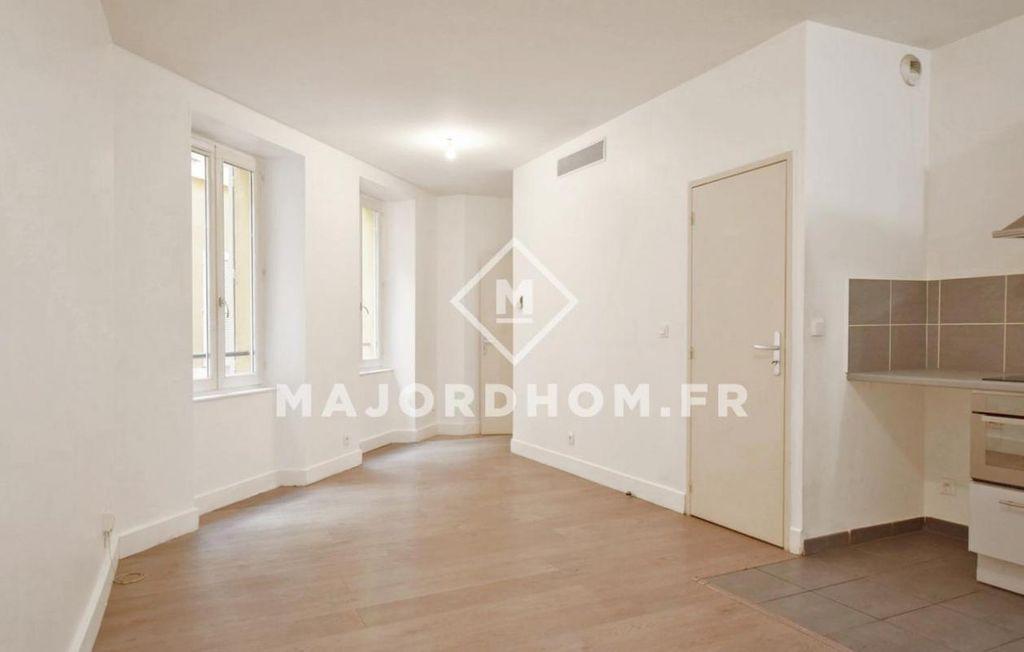 Achat studio 31m² - Marseille 2ème arrondissement
