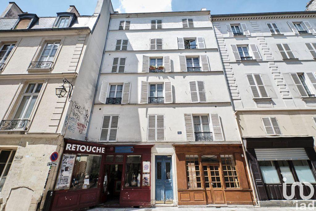 Achat studio 27m² - Paris 4ème arrondissement