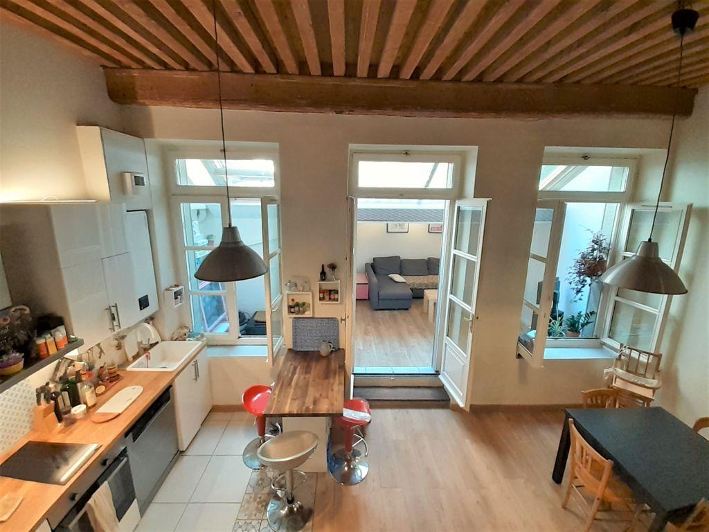 Achat appartement 4pièces 66m² - Lyon 4ème arrondissement