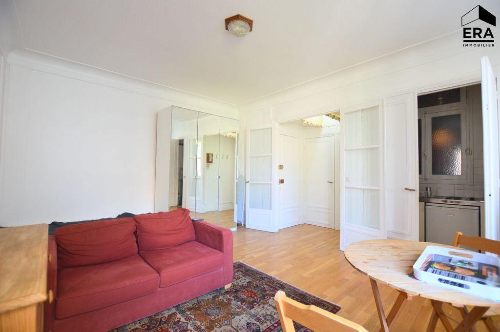 Achat studio 30m² - Paris 16ème arrondissement
