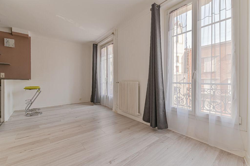 Achat studio 22m² - Paris 18ème arrondissement