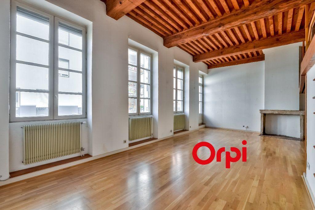 Achat appartement 2pièces 63m² - Lyon 1er arrondissement