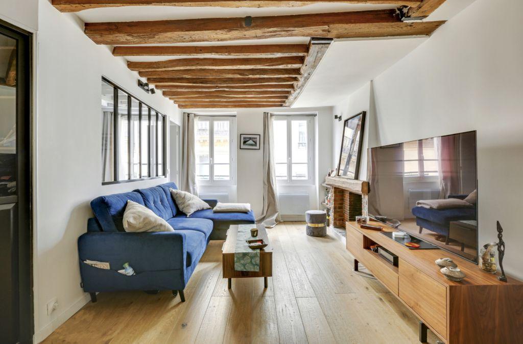 Achat appartement 2pièces 41m² - Paris 3ème arrondissement