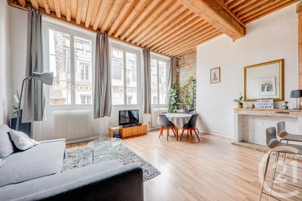 Achat appartement 3pièces 77m² - Lyon 2ème arrondissement