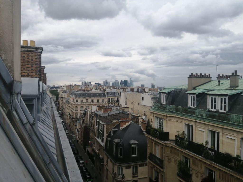 Achat studio 12m² - Paris 16ème arrondissement