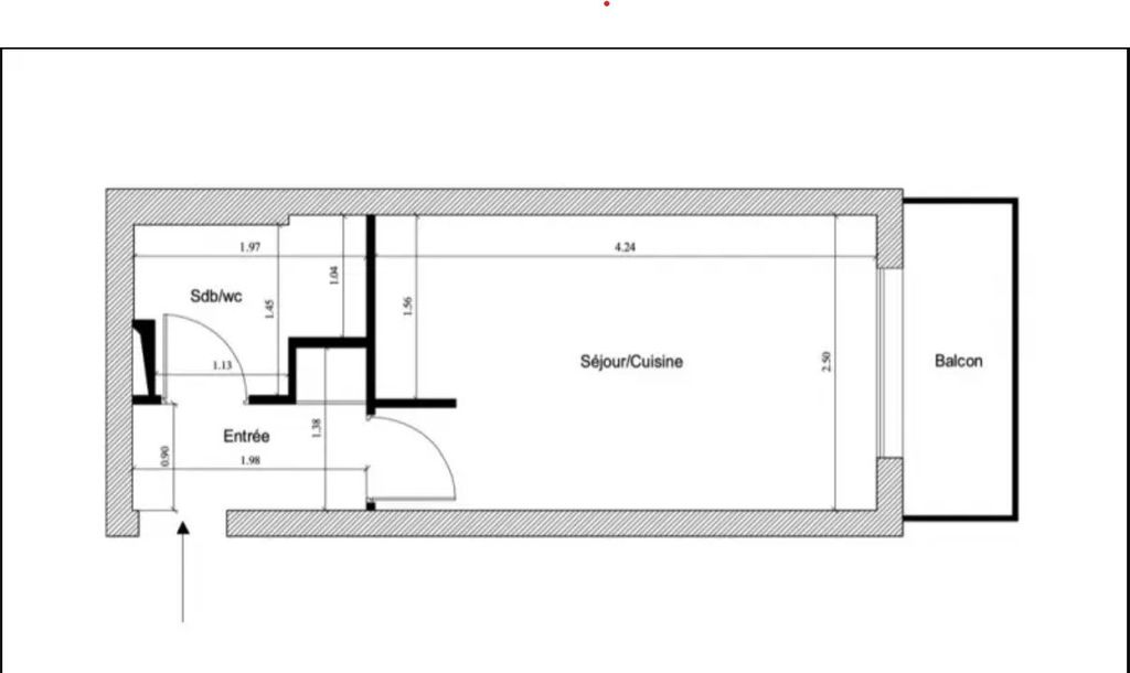 Achat studio 15m² - Paris 12ème arrondissement