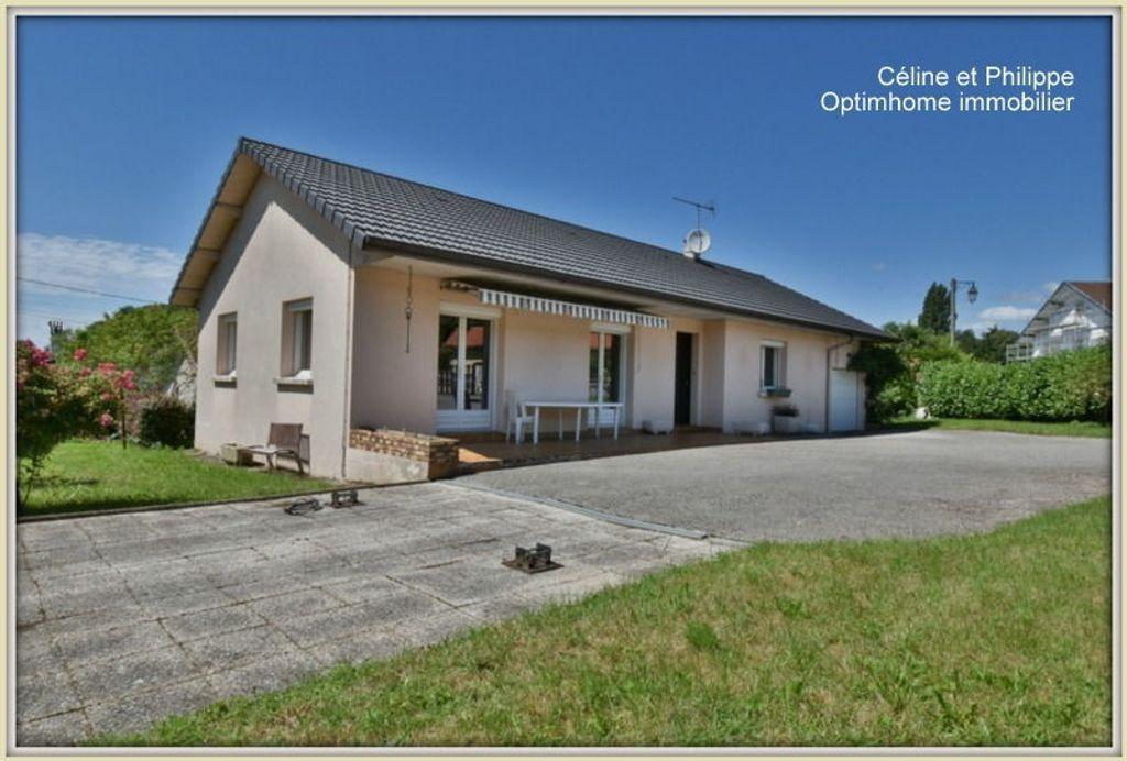 Achat maison 4chambres 105m² - Meillonnas