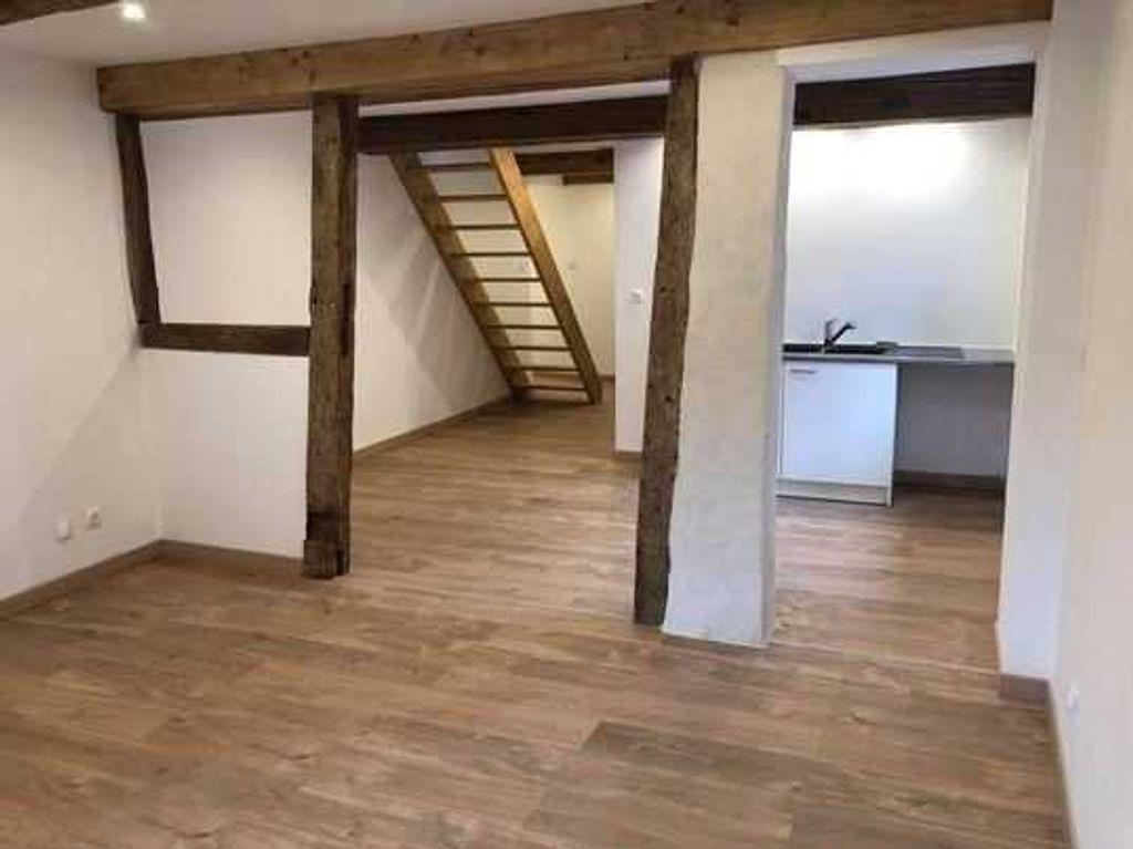 Achat duplex 4pièces 83m² - Chalamont