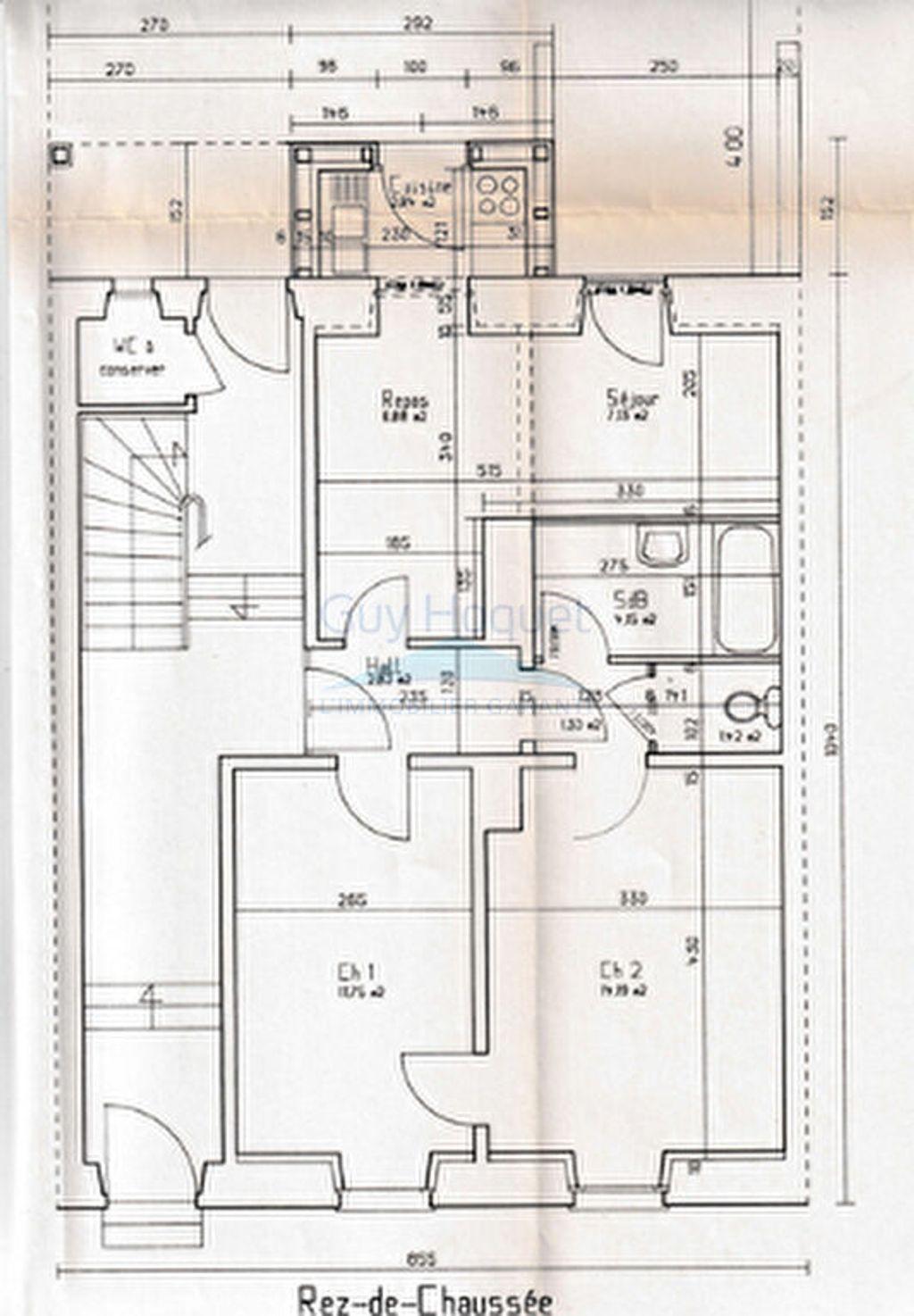 Achat appartement 3pièces 52m² - Mulhouse