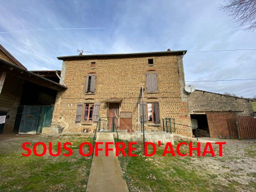 Achat maison 3chambres 175m² - Saint-Sorlin-en-Valloire