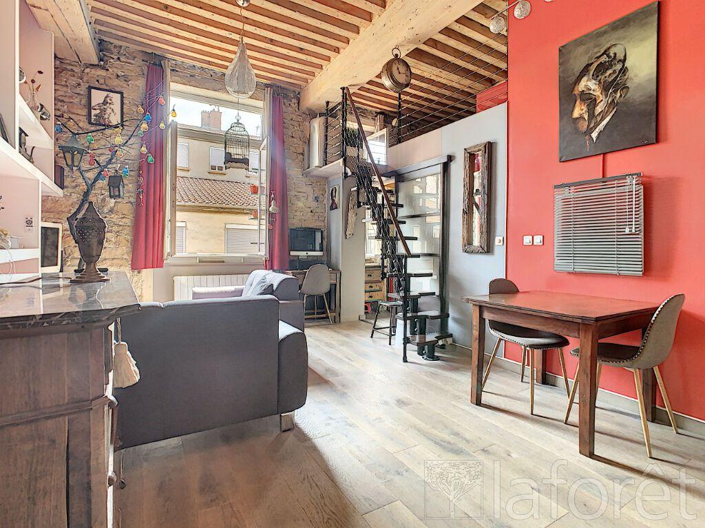 Achat appartement 2pièces 52m² - Lyon 4ème arrondissement