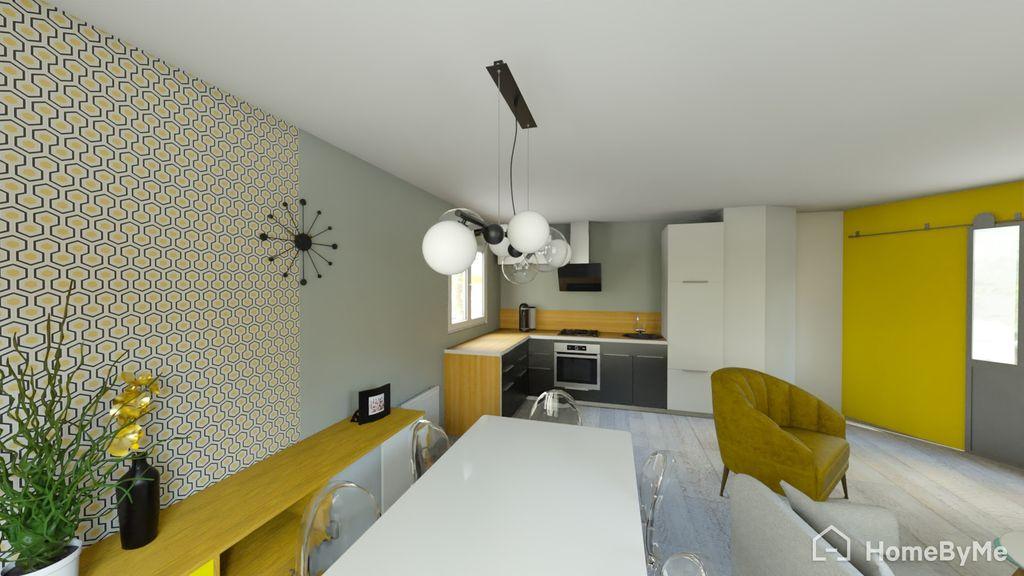 Achat appartement 3pièces 69m² - Lyon 3ème arrondissement