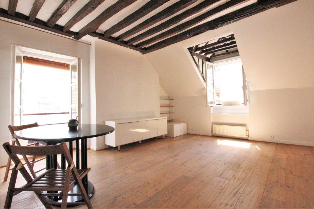 Achat appartement 2pièces 47m² - Paris 4ème arrondissement