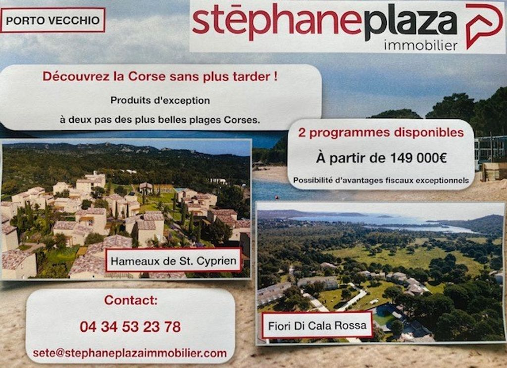 Achat maison 1chambre 22m² - Porto-Vecchio