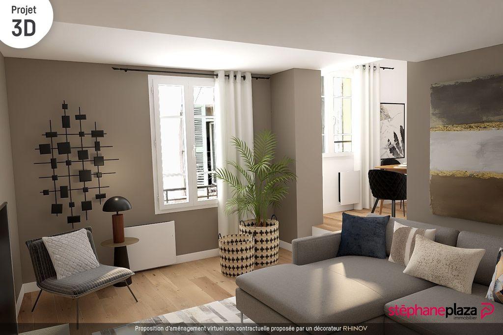 Achat studio 24m² - Toulon
