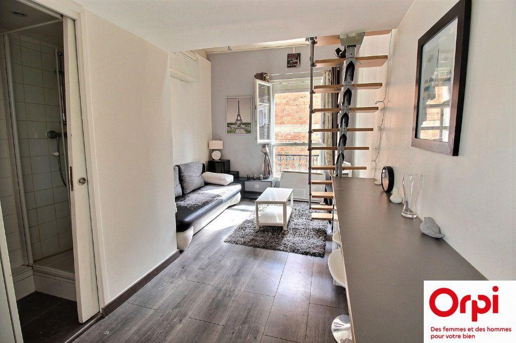 Achat appartement 2pièces 18m² - Paris 18ème arrondissement