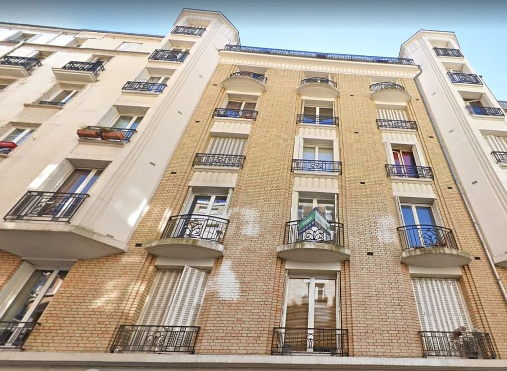 Achat studio 15m² - Paris 18ème arrondissement