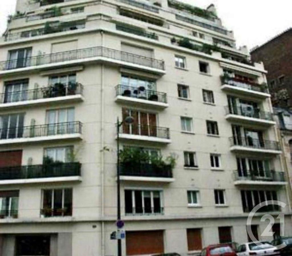Achat studio 15m² - Paris 16ème arrondissement