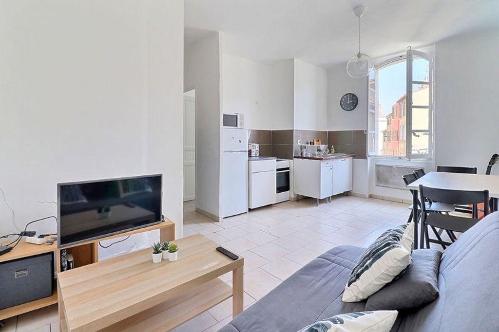 Achat appartement 2pièces 29m² - Marseille 6ème arrondissement