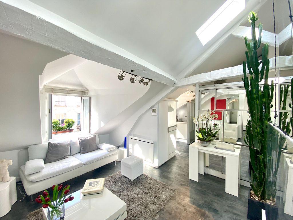 Achat appartement 2pièces 39m² - Paris 3ème arrondissement