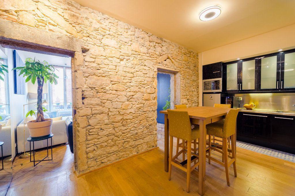Achat appartement 3pièces 57m² - Lyon 2ème arrondissement