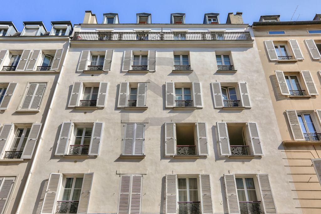 Achat souplex 2pièces 17m² - Paris 17ème arrondissement